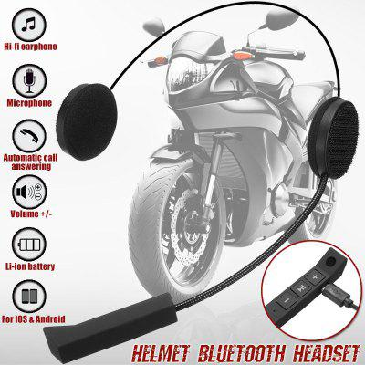 Microphone Speaker Motorcycle Helmet Headset Soft Accessory For Motorcycle Intercom Work
