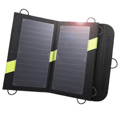 X-DRAGON Solar Power Bank 5V 14W Dual USB Fold Solar Charger Phone External Battery Charger