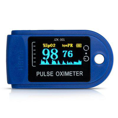 Fingertip Pulse Oximeter LCD Display Blood Oxygen Saturation Measurement Infrared Detection