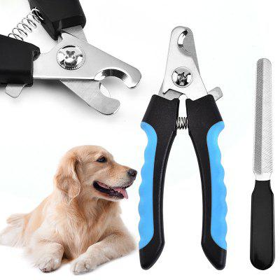 Pet Nail Clipper Dog Grooming Toe Nail Care Stainless Steel Dogs Cats Claw Nail Clipppers Cutter