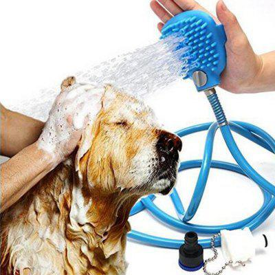 Pet Shower Sprayer Bathing Tool Multi-Functional Bath Hose Sprayer and Scrubber in One