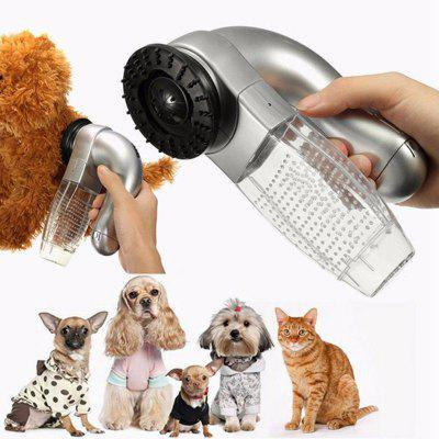 Electric Pet Hair Remover Dog Cat Grooming Brush Vacuum Clean Trimmer Shed Pal Grooming Clean