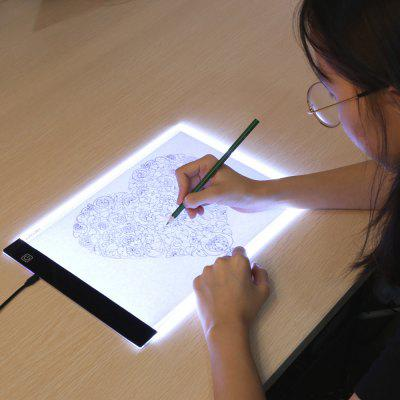 Digital Tablets A4 LED Graphic Artist Thin Art Stencil Drawing Board Light Box Tracing Table Pad