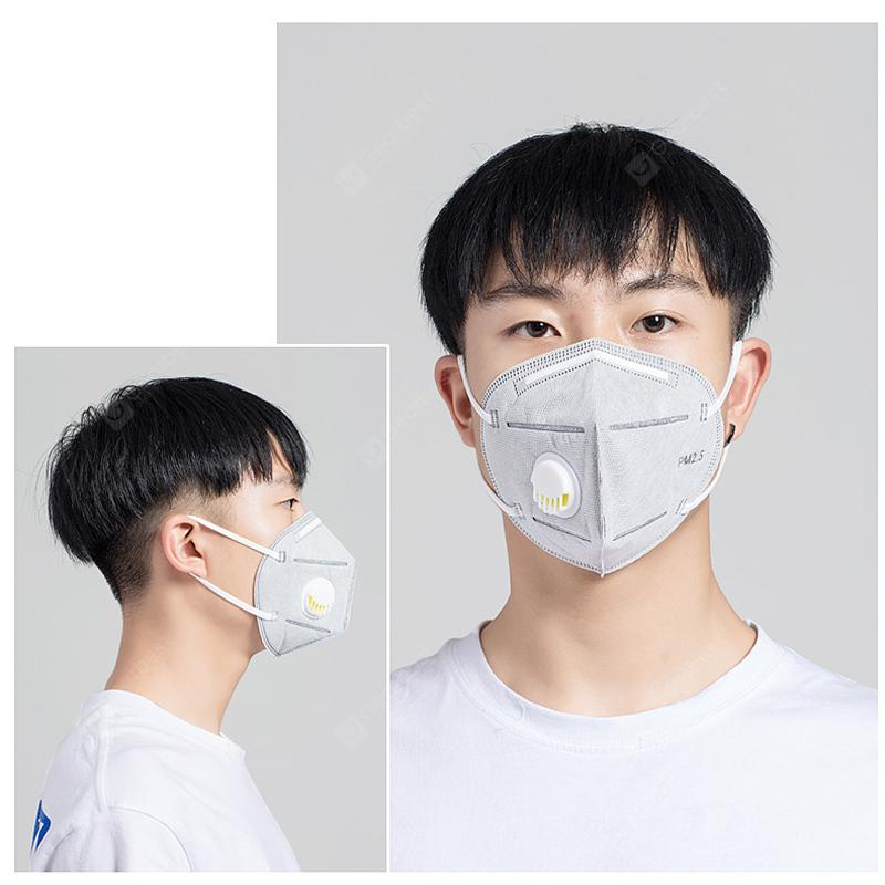 100pcs Face Mask KN95 Anti Dust Fog Reusable Masks Washable Certification In Stock