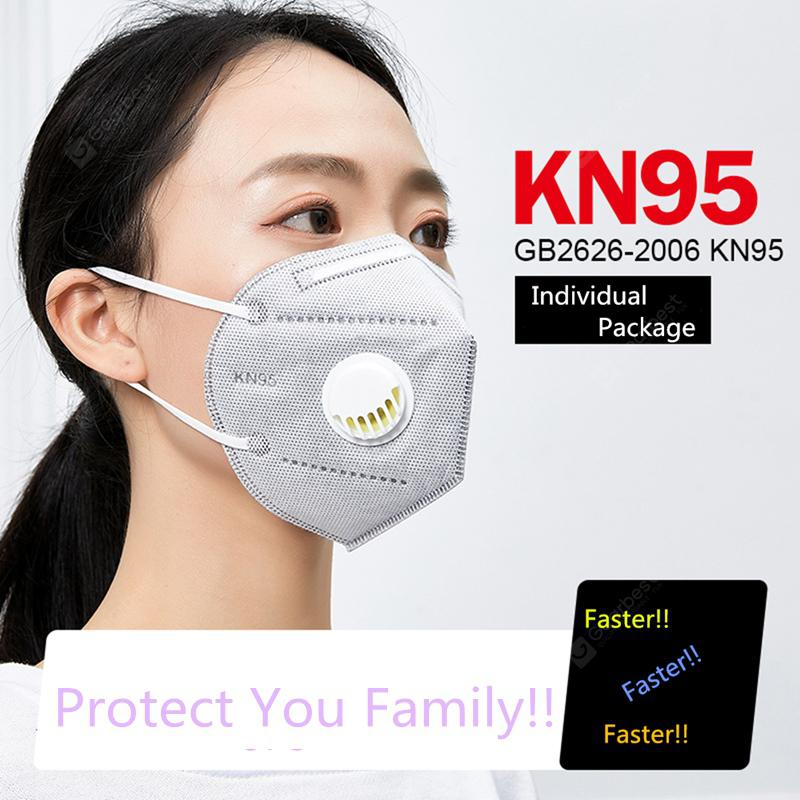 50pcs Face Mask KN95 Anti Dust Fog Reusable Masks Washable Certification In Stock