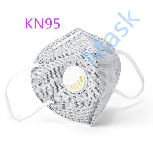 50pcs KN95 Face Mask Anti Dust In Stock for Adult Safety Certificate Masks