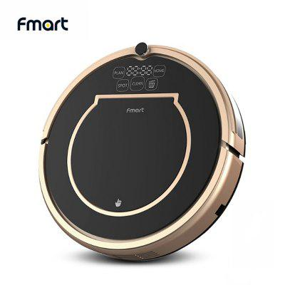 Fmart E200 Robot Vacuum Cleaner Sweep Wet Mop Simultaneously For Hard Floors Carpet Hair