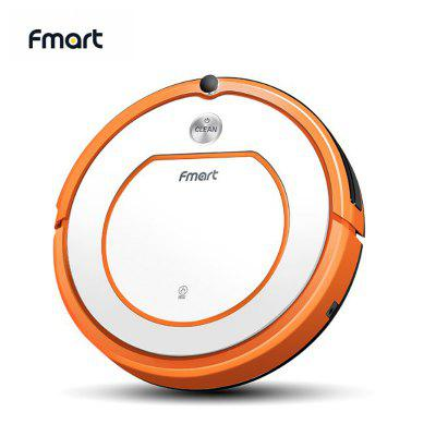 Fmart YZ-Q2 Robot Vacuum Cleaner Sweep Wet Mop Automatic Recharge Powerful Suction For Pet Hair