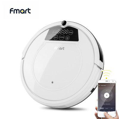 Fmart E-R550WS Robot Vacuum Cleaner Wifi APP Control Poweful Suction Wet Dry Auto Home Sweeper Image