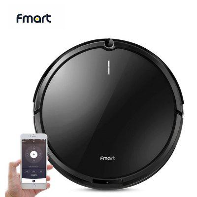 Fmart YZ-X1 Robot Vacuum Cleaner WIFI APP Control Sweep Wet Mop For Hard Floors Carpet Pet Hair Image