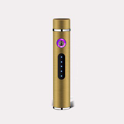 Mini Cylindrical USB Charging Electronic Lighter Touch Sensor Switch Cigar Cigarette Lighter
