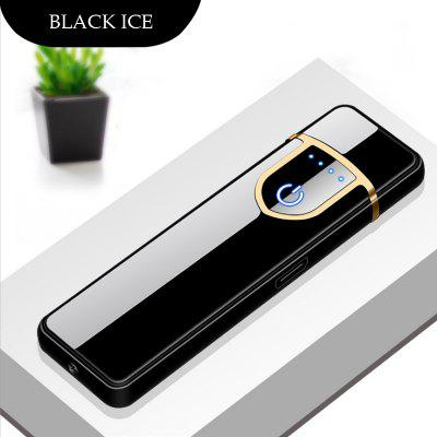 Electronic Charging USB Lighter Mini Windproof Mute Plasma Lighter Cigarette Accessories