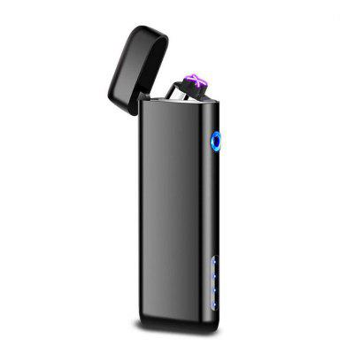 USB Lighter Double Arc Windproof Flameless Electronic Lighter Cigarette Lighter Plasma Lighter