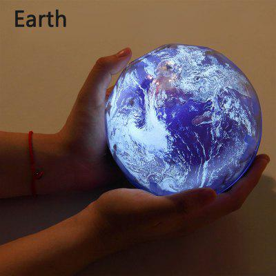 Starry Sky Night Light Planet Magic Projector Earth Universe LED Lamp Colorful Rotate Flashing Star