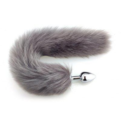 Metal Feather Anal Toys Erotic Fox Tail Sex Toys For Woman Anal Toys Adult Sex Products
