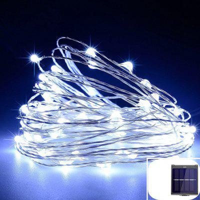 LED Outdoor Solar Lamp LEDs String Lights Fairy Holiday Christmas Party Garland  Waterproof Lights