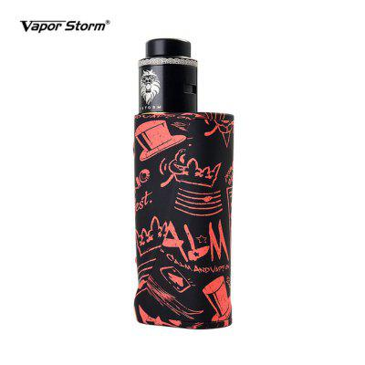 Vapor Storm Eco Pro Lion Starter Kit with Vaper 80W TC VW Box Mod RDA Atomizer E Cigarettes Vape