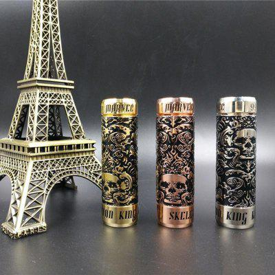 Marvec Skeleton King Kong Mechanical Mod suit Low Resistant for Vape 510 Thread RDA RTA Atomizers