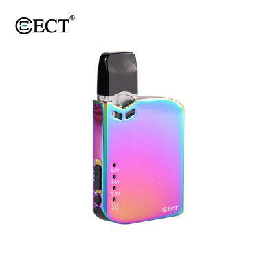 ECT Robin Pod System Vape Kit E Cigarette 420mAh Preheat VV Battery 0.5ml E-Liquid Cartridge Tank