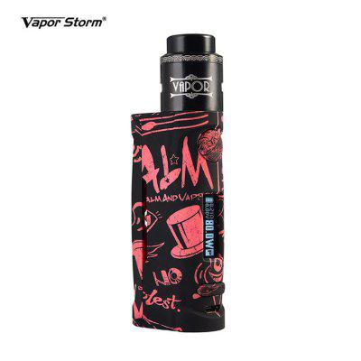 Vapor Storm Pum Baby Lion RDA E Cig Kit with 80W TC VW Box Mod Mechanical Vape DIY Atomzier
