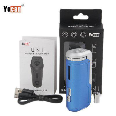 Original Yocan Uni Box Mod 650mAh Unibox Battery with Magnetic Adapter for 510 Thread Oil Cartridges
