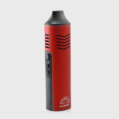 Conqueror Temp Control Dry Herb Vaporizer with Ceramic Heating Chamber OLED TC Herbal Vape Pen Kit