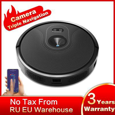 ABIR X6 Robot Vacuum Cleaner With Camera Map Navigation Hand Draw Virtual Blocker Image