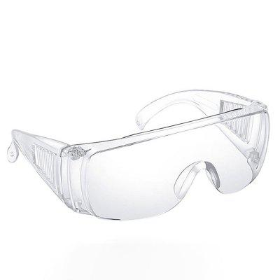 Anti COVID-19 Virus Safety Glasses Transparent Dust-Proof Glasses Lab Protective Goggles