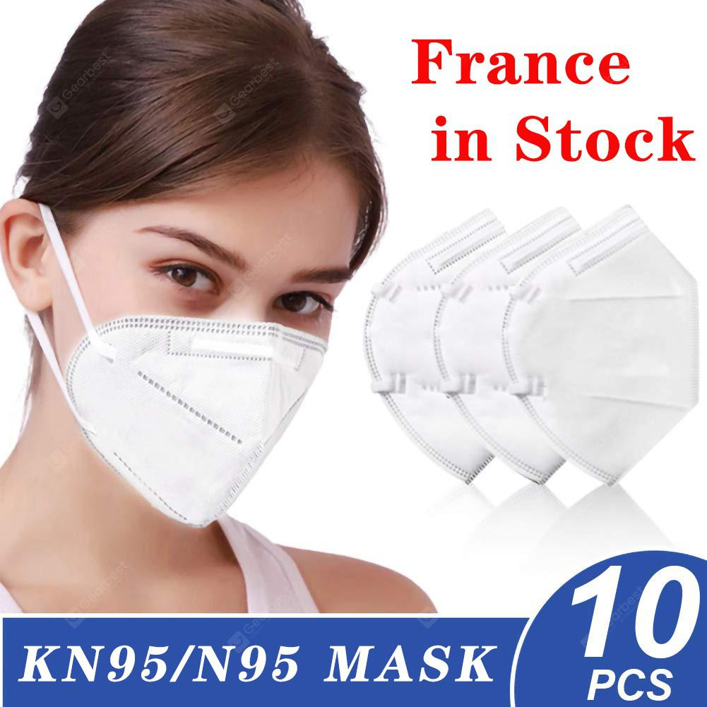 10 PCS N95 Mask Respirator for Dust Poll