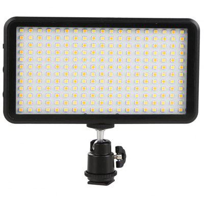 W228 LED Video Light 6000k Dimmable Ultra Bright Panel Digital Camera Camcorder for Canon Nikon Pentax Panasonic Sony Samsung Olympus