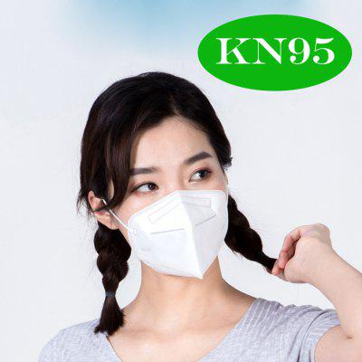 1 PCS KN95 FFP2 Face Mask 5-Layer Respirator for Dust Pollution Ordinary Non-Medical Masks