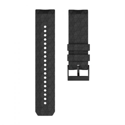 24mm Silicone Replacement Watchband Wrist Band Strap for Suunto 9 Baro and Spartan Baro