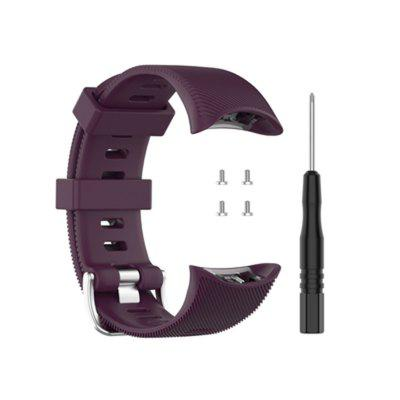 25mm Silicone watch strap for Garmin Forerunner45 and F45s smartwatch with tool accessory