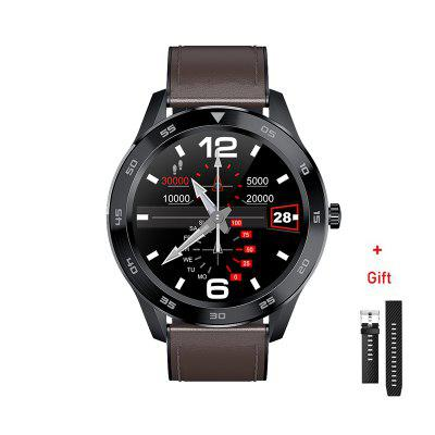 DT98 BT Call Smart Watch Full Screen Touch PPG ECG Heart Rate Blood Pressure Monitor IP68 Waterproof