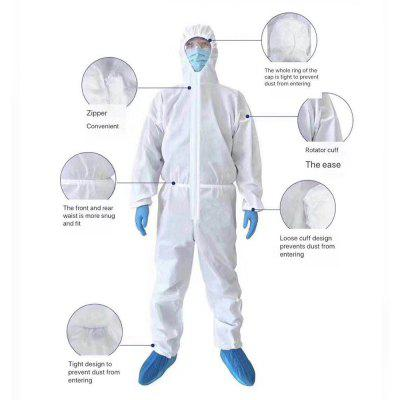 C2 Medical Protective Clothing Disposable Anti-Epidemic Antibacterial Isolation Clothing