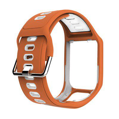Silicone Band Strap for TomTom Runner 2 3 Spark Sport GPS Watch Water Resistant Smart Watch Strap