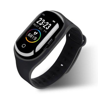 M1Pro Smart Watch Heart Rate Monitor Sports Bluetooth Earphone Blood Pressure Smart Wristband