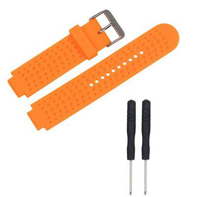 Silicone Replacement Wrist Band For Garmin Forerunner 25 GPS Watch Men with Tools
