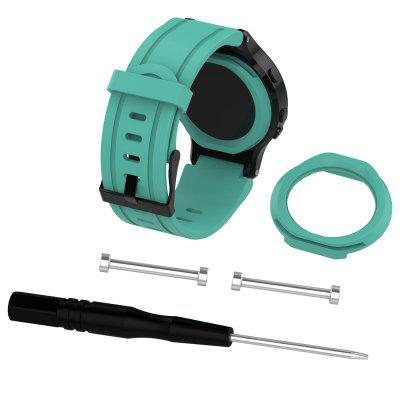 Replaceable Wristband For Garmin Forerunner 225 Silicone Watch Band Strap With Tool Cover Case