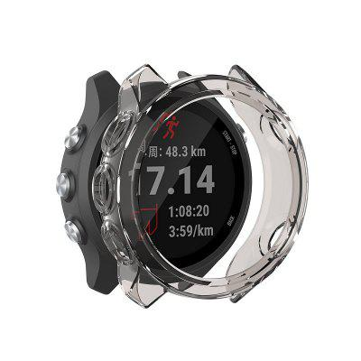 Smart Protector Case Silicone Skin Protective Case Cover for Garmin Forerunner 245 245M Sports Watch