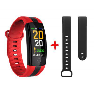 Smart Bracelet QS01 Fitness Tracker Blood Pressure Heart Rate Monitor Smartwatch Waterproof