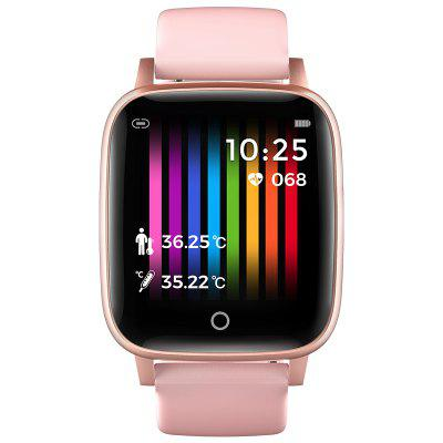 T1 Body Temperature Measurement Smart Watch Men Women Heart Rate Monitor Ip67 Waterproof Smartwatch