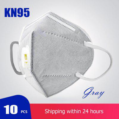 KN95 Protective Mask with Breathing Valve Safety Protection N95 PM2.5 Non medical