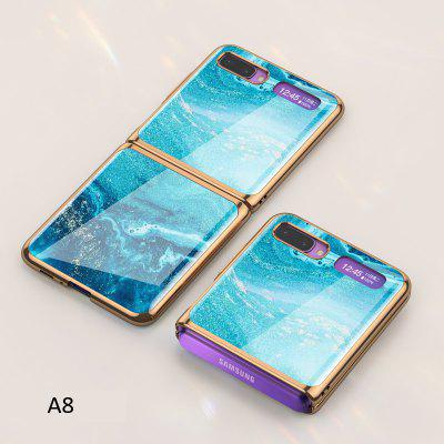 Luxurious Noble Fold Case For Samsung Galaxy Z Flip Foldable Feminine Pattern Cove