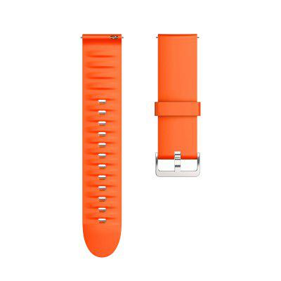 22mm Strap For M Smartwatch 2019 New Model SilverBuckle Colorful Silicone Watchband for M Smartwatch Bracelet Replaceable accessories