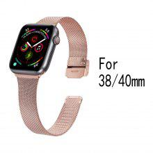 Milanese loop strap for Apple watch band 40mm 38mm Iwatch band series 5/4/3/2/1 40 mm 38 mm metal stainless steel bracelet