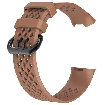 Silicone Wristband For Fitbit Charge 4 Air Holes Breathable Band Sport Bracelet For Fitbit Charge 3 Correa