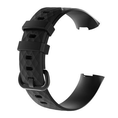Sport Bands for Fitbit Charge 4 Band Silicone Smart Watch Replacement Strap Accessories Wristband For Fit bit Charge3 Bracelet