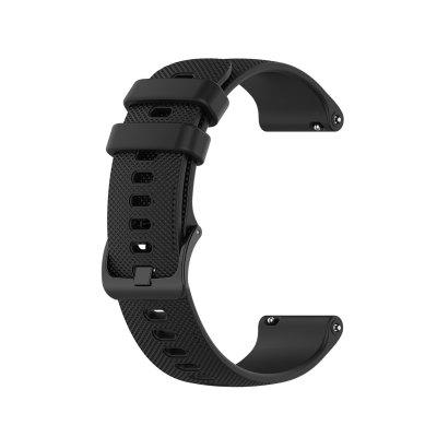 18MM Silicone Strap For Garmin Vivoactive 4S/Active S/vivomove 3S Smart Watch Strap Texture Sport Watch band Replacement Band Bracelet