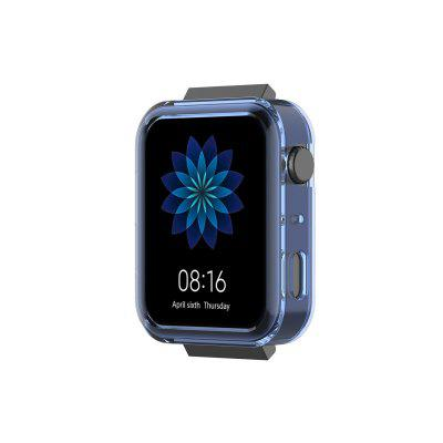 TPU Case Cover Soft Frame Bumper Protective Case transparent Cover for M Smartwatch Shell Screen Protector